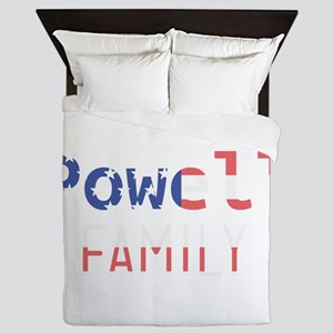 Powell Family Queen Duvet